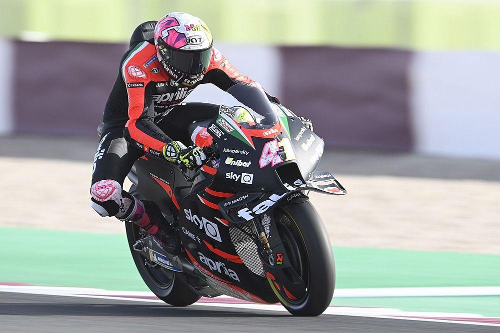 MotoGP: Aleix Espargaró lidera primeira sessão de treinos do GP de Doha