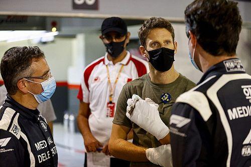 Grosjean wrócił za kierownicę
