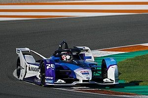 Gunther quickest on final day of Valencia Formula E test