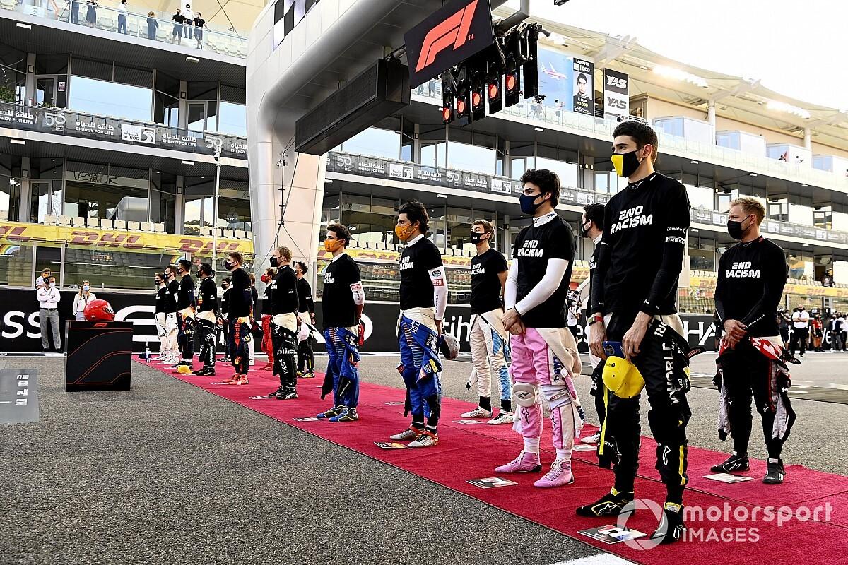 """F1、2021年も社会問題に""""積極的""""に関与へ。ドメニカリCEO「これからもメッセージを発信していく」"""