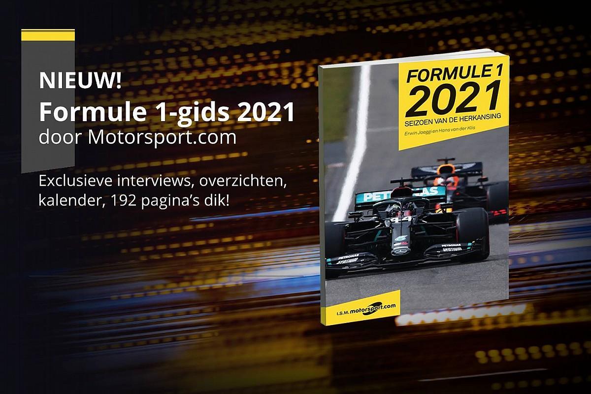 Motorsport.com komt met boek over Formule 1-seizoen 2021