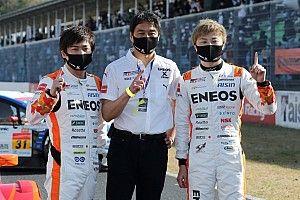 2019年王者コンビ大嶋&山下がルーキーレーシングで初優勝「モリゾウさんにタイトルで恩返しを」