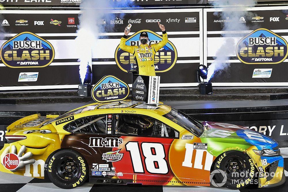 Busch Clash in Daytona: Kyle Busch profitiert von Elliott-Blaney-Clash