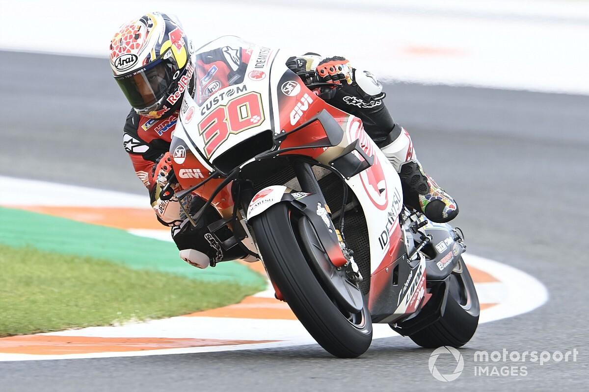 Nakagami lidera el arranque en el GP de Valencia
