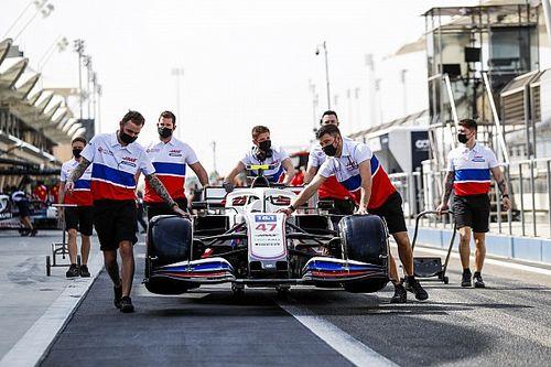 Technische problemen treffen Haas op eerste F1-testdag