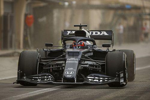 F1プレシーズンテスト初日午後|砂埃舞う悪コンディションでフェルスタッペンがトップ。角田裕毅は9番手