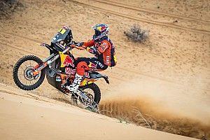 Dakar, Moto, Tappa 11: Sunderland mette paura alle Honda