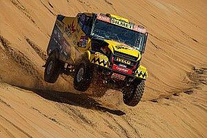 КамАЗы уступили Iveco победу на этапе «Дакара»