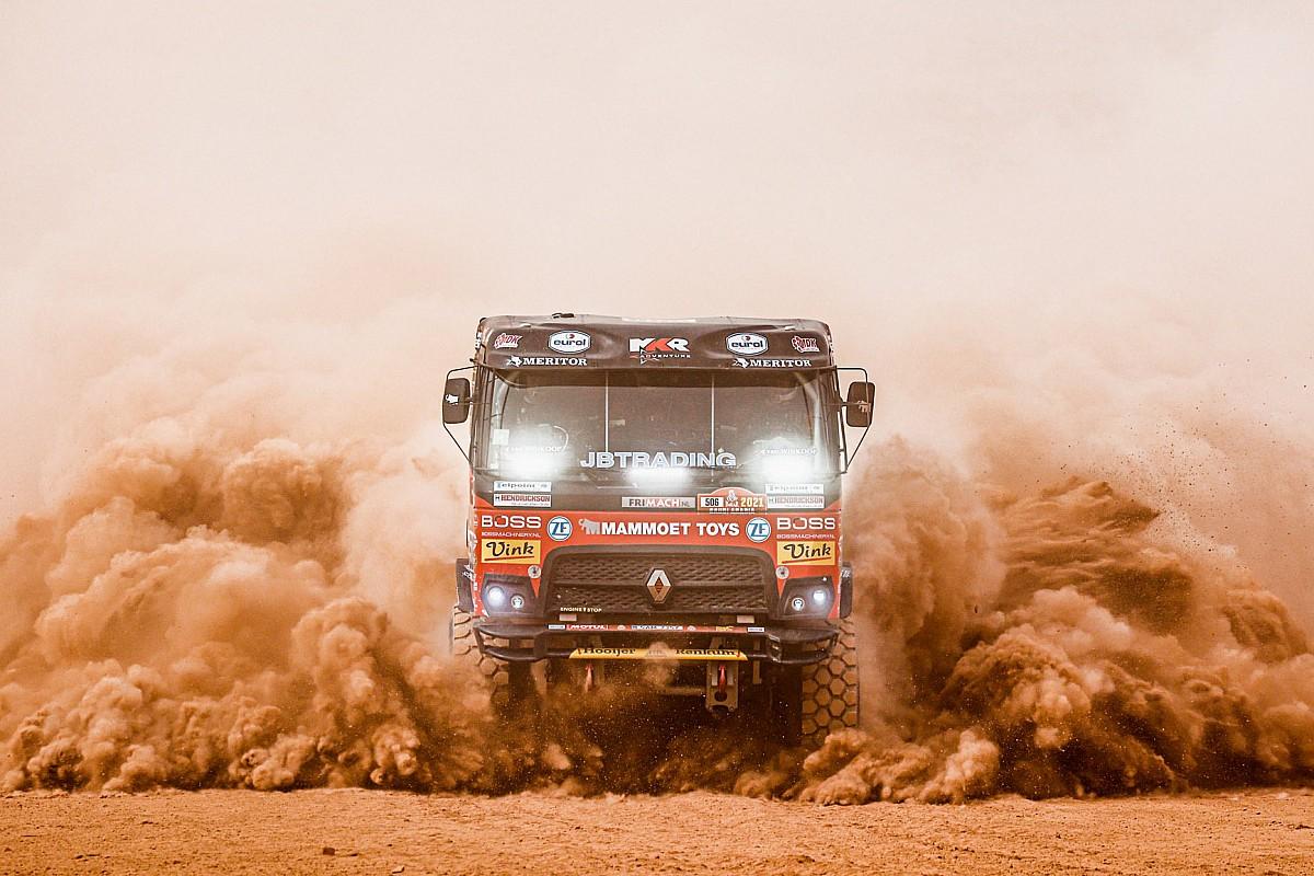 GALERÍA: mejores fotos de la etapa 10 del Dakar 2021