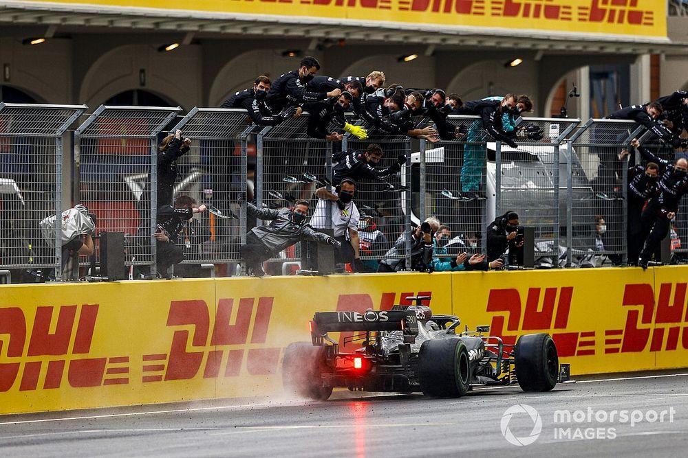 F1: Hamilton elege exibição no GP da Turquia como a melhor de 2020