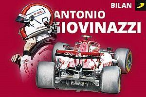 Bilan 2020 - Giovinazzi a soutenu la comparaison avec Räikkönen