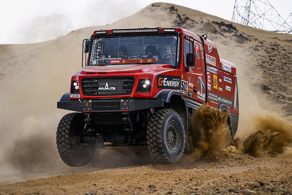Dakar, Camion, Prologo: doppietta della MAZ