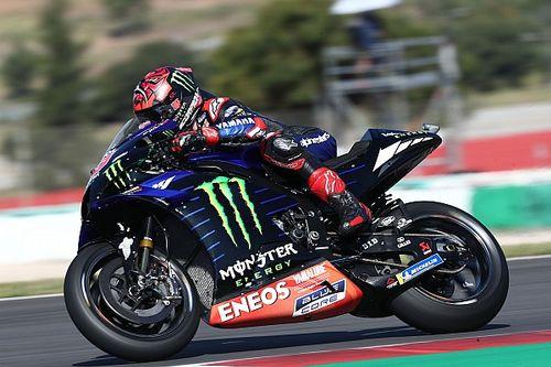 Portuguese MotoGP: Quartararo fastest in FP3, Marquez to Q1