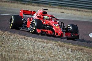 Fotogallery: Mick Schumacher a Fiorano con una Ferrari SF71H
