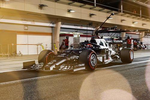 El lío de Tsunoda con el DRS en los test de la F1 2021 no fue adrede