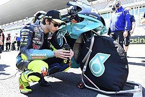 Rossi Akui Tak Punya Kecepatan seperti Dulu