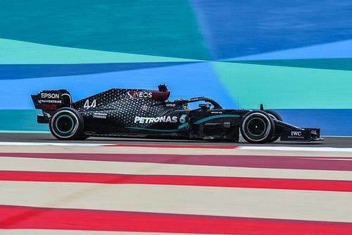 Хэмилтон и Боттас на секунду опередили соперников в первой тренировке в Бахрейне