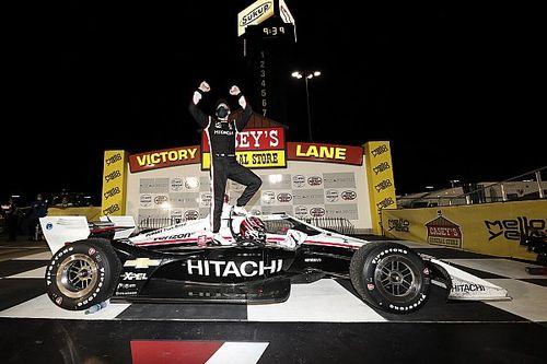 Newgarden gana la segunda en Iowa, O'Ward con problemas en pits