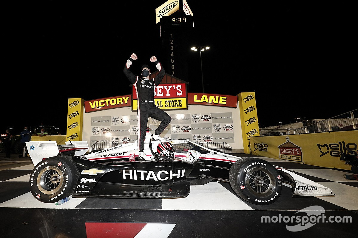 Newgarden feels redemption after anger of night before