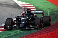 Hamilton ontloopt gridstraf en behoudt tweede startplek in Oostenrijk