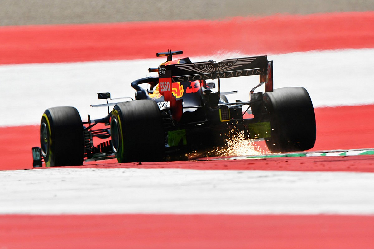 2020 F1 Austrian Grand Prix qualifying results