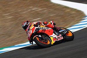 Jerez MotoGP: Marquez leads Vinales in first practice
