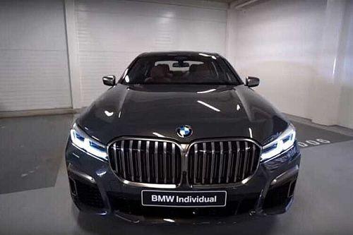 Elkaszálja a BMW 7-sorozat legerősebb tagját