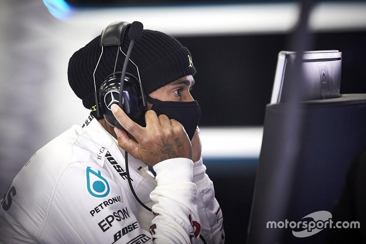 Hamilton de vuelta en un F1 con Mercedes en Silverstone
