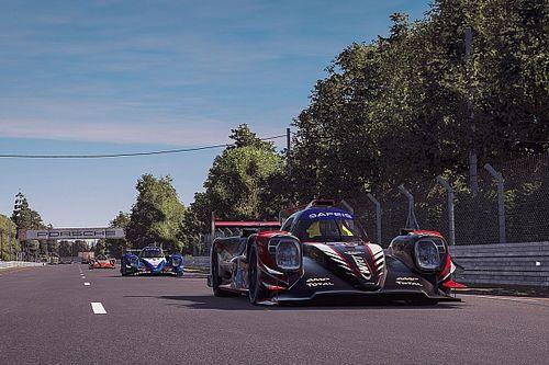 WRT lidera las 24 Horas de Le Mans Virtual cumplida la 1° hora