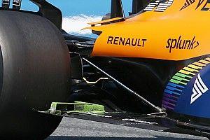 McLaren: c'è un deflettore sul fondo in stile Ferrari