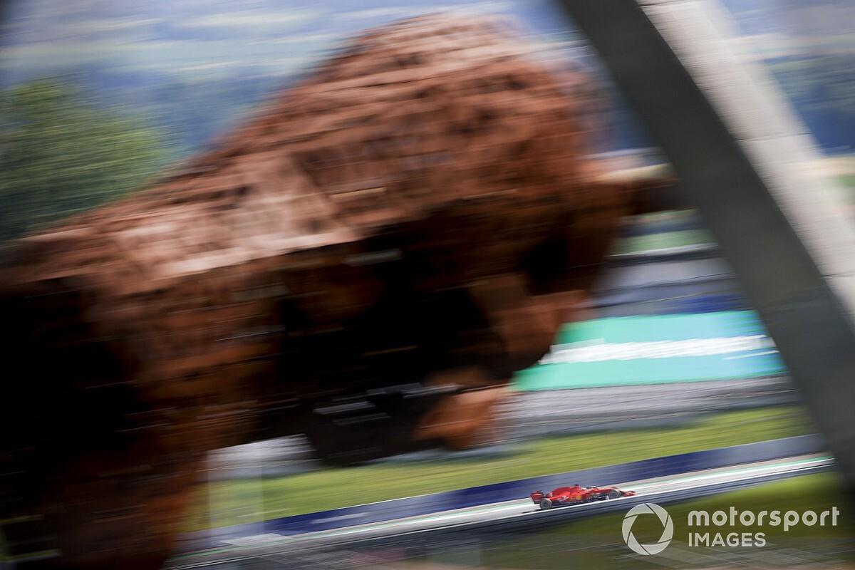 Las mejores imágenes del inicio de la acción en el GP de Estiria