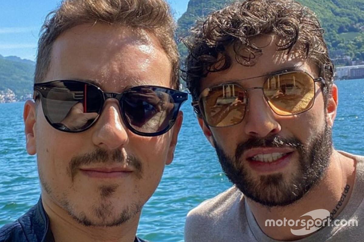 """Lorenzo: """"Iannone è sereno, abbiamo parlato e mi ha convinto"""""""