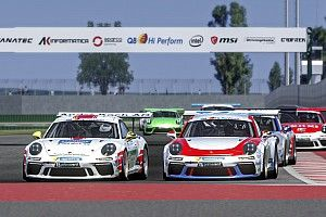 Primo match point al Mugello Circuit nella Porsche Esports Carrera Cup Italia
