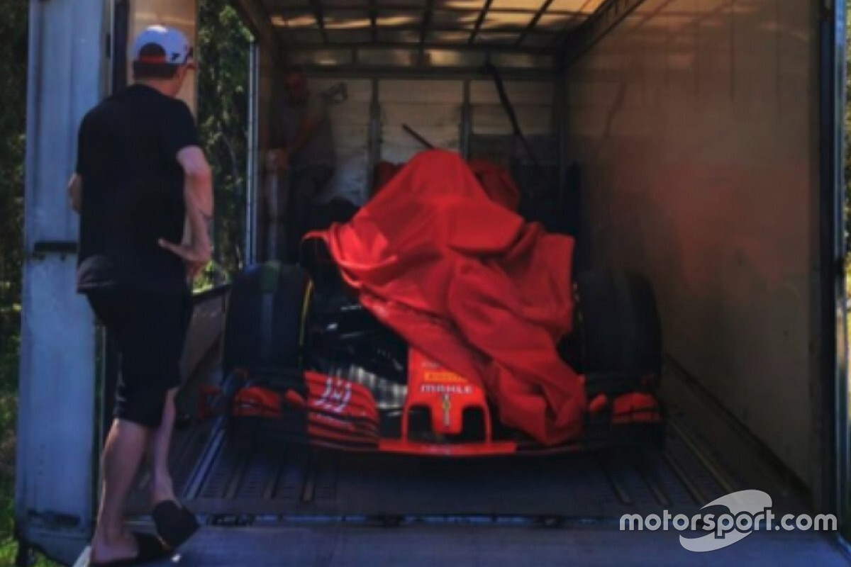 Ferrari подарила Райкконену болид Формулы 1. Тот самый, на котором Кими одержал последнюю победу