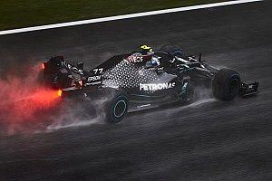 Bottas kicsit küzdött a fékekkel, a Mercedes szerint második lehetett volna