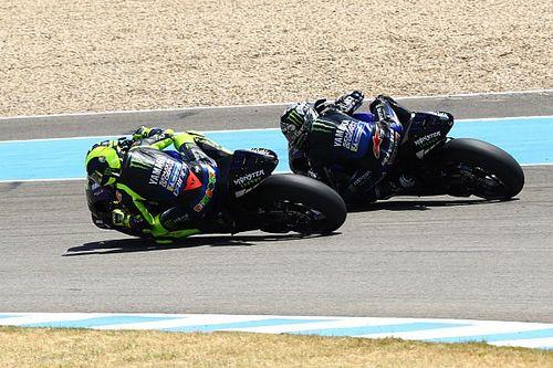 """Rossi: """"Yamaha me dice que tengo 41 años y aprenda a llevar la moto de Quartararo y Viñales"""""""