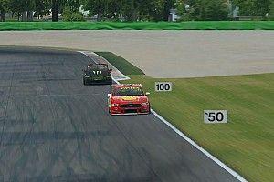 McLaughlin takes Monza Eseries win despite fuel drama