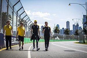 Teamleden Renault in zelf-quarantaine na terugkeer uit Australië