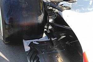 A Haas kissé átszabta az autó hátulját