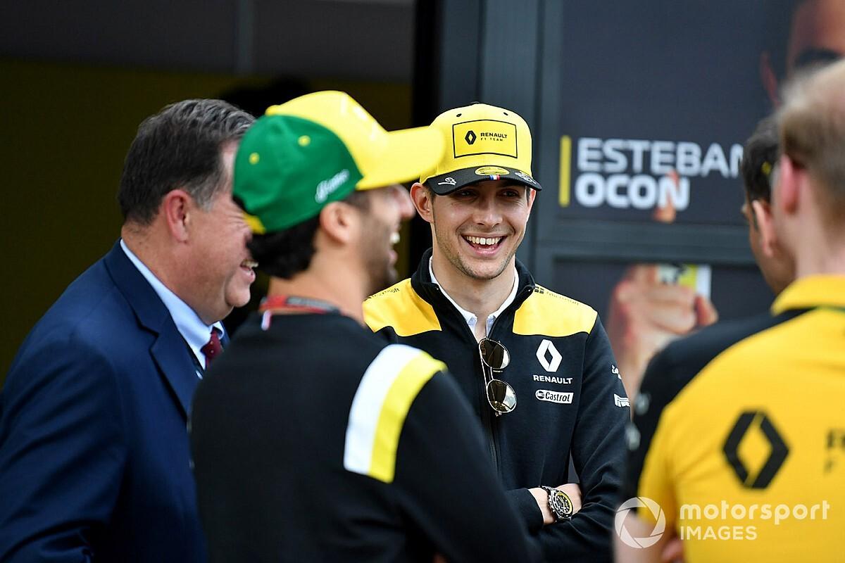 Ocon jobb légkörre számít Ricciardo csapattársaként