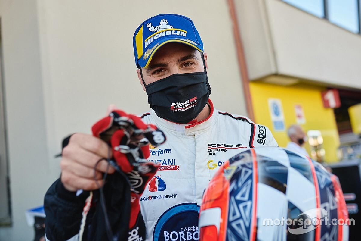 Carrera Cup Italia, Misano: Iaquinta il più veloce nel test pre-gara