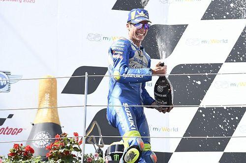 Joan Mir titille les Ducati et fête son premier podium