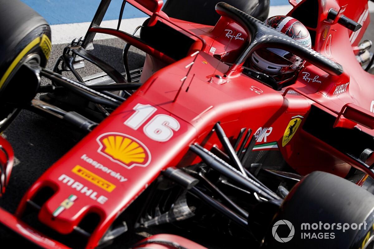 Figyeld a Leclerc-re ható G-erőt a Ferrari volánja mögött Silverstone-ban: videó