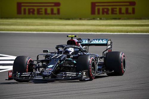 Bottas supera a Hamilton en la 3° práctica de Gran Bretaña