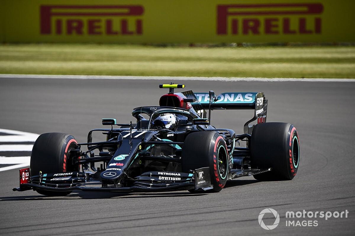 Bottas topt afsluitende training op Silverstone, Verstappen derde