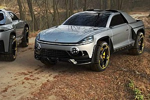 Renderképek bizonyítják, hogy a Porsche arculata egy kisteherautón is megállná a helyét