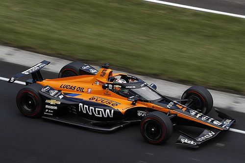Clutch problem hinders Alonso at Indy as O'Ward stars