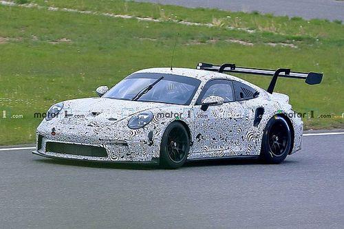 Гоночный Porsche 911 GT3 Cup тайно засняли на «Нюрбургринге»