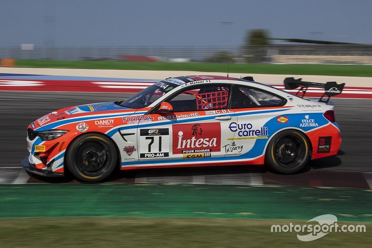 GT Italiano: c'è anche Paolo Meloni con la BMW GT4