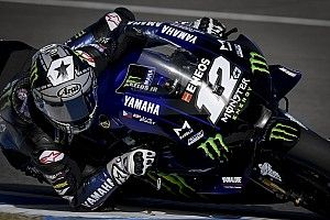 Andalusia MotoGP: Vinales leads Rossi in first practice